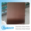 201 304 316l 316 430 Cold Rolled Hairline Manufacturer Price Stainless Steel Plate