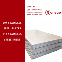316/304 ASTM B575 Stainless Steel Thick Plate